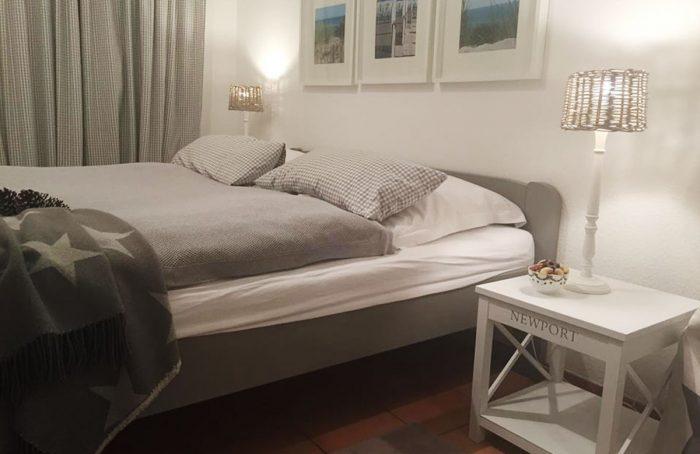 Ferienwohnung – Schlafzimmer nachher