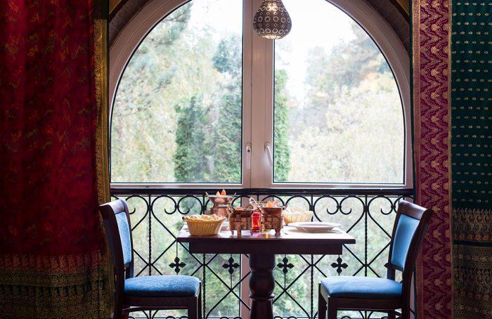 Fensterplätze im Restaurant nachher