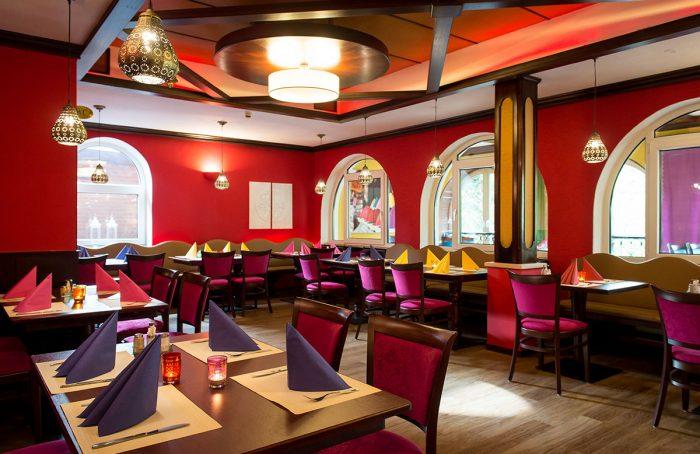 Restaurant-Saal nachher – Interior-Redesign